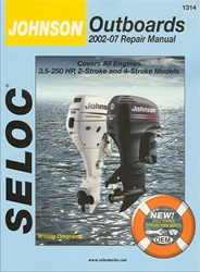Johnson Outboard Repair Manual 2002-2007