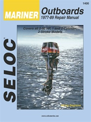 Mariner Outboard Repair Manual 1977-1989