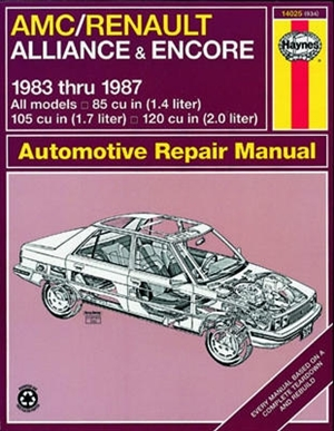 renault haynes manual