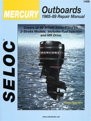 Mercury Outboard Repair Manual 1965-1989