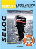 Mercury Outboard Repair Manual 2001-2014