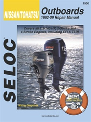 Nissan - Tohatsu Outboard Repair Manual 1992-2009