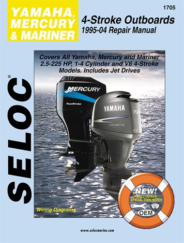 mercury  mariner  u0026 yamaha 4 stroke outboard manuals