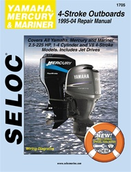 Mercury, Mariner & Yamaha Outboard Repair Manual 1995-2004