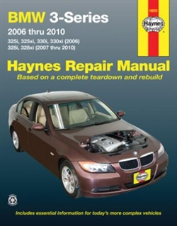 Haynes 18023 BMW 3-Series 2006 thru 2010 Repair Manual