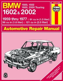 Haynes 18050 BMW Repair Manual for 1959 thru 1977