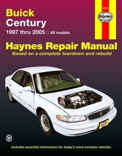 Haynes 19010 Buick Century Repair Manual for 1997 thru 2005