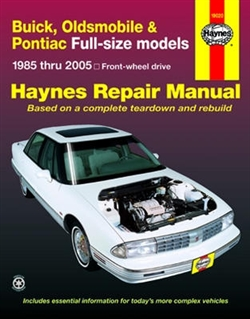 Haynes 19020 Buick Repair Manual for 1985 thru 2005 FWD Vehicles