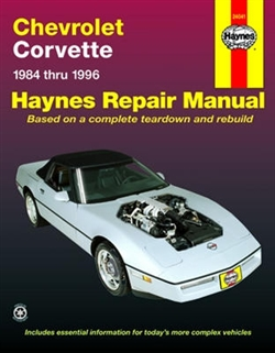 Haynes 24041 Chevy Corvette Repair Manual for 1984 thru 1996