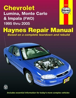 Haynes 24048 Chevy Repair Manual for 1995 thru 2005 Front-Wheel Drive Models