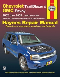 Haynes 24072 Chevy Repair Manual for 2002 thru 2009