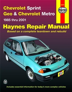 Haynes 24075 Chevy Repair Manual for 1985 thru 2001