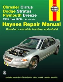 Haynes 25015 Chrysler Repair Manual for 1995 thru 2000