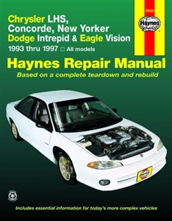 Haynes 25025 Chrysler Repair Manual for 1993 thru 1997