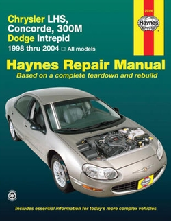 Haynes 25026 Chrysler Repair Manual for 1998 thru 2004