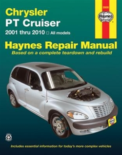 Haynes 25035 Chrysler PT Cruiser Repair Manual for All Models 2001 thru 2010