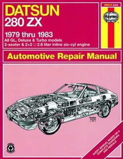 Haynes 28014 Datsun 280Zx Repair Manual for 1979 thru 1983