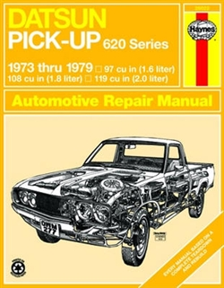 Haynes 28022 Datsun Pick-Up 620 Series (OHC Engines) Repair Manual for 1973 thru 1979