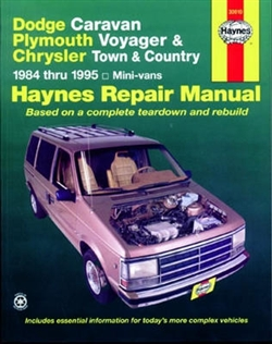 Haynes 30010 Dodge Repair Manual for 1984 thru 1995