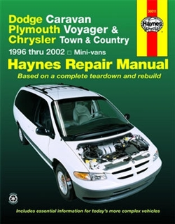 Haynes 30011 Dodge Repair Manual for 1996 thru 2002