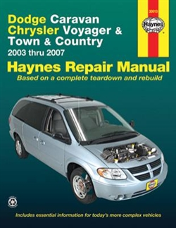 Haynes 30013 Dodge Repair Manual for 2003 thru 2007