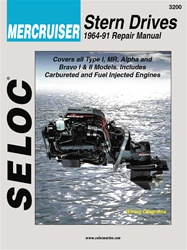Mercruiser Repair Manual 1964-1991