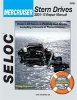 Mercruiser Repair Manual 2001-2008