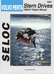 Volvo Penta Repair Manual 1968-1991