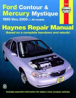 Haynes 36006 Ford Contour and Mercury Mystique Repair Manual for 1995 thru 2000