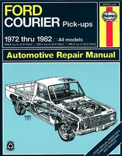 Haynes 36008 Ford Courier Pick-Ups Repair Manual for 1972 thru 1982
