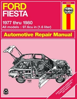 Haynes 36032 Ford Fiesta Repair Manual for All Models 1977 thru 1980