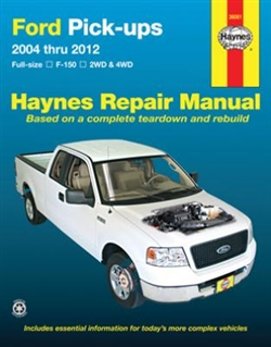Haynes 36061 Ford Pick-Ups Repair Manual for 2004 thru 2012