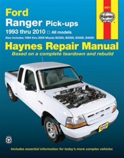 Haynes 36071 Ford Ranger and Mazda Pick-Ups Repair Manual for 1993 thru 2010