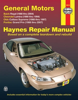Haynes 38010 General Motors Repair Manual for 1988 thru 2007