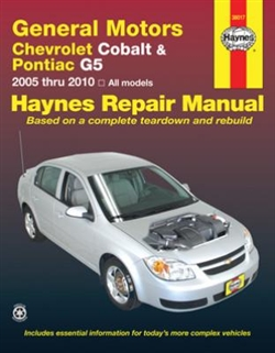 Haynes 38017 General Motors Repair Manual for 2005 thru 2010