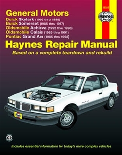 Haynes 38025 General Motors Repair Manual for 1985 thru 1998