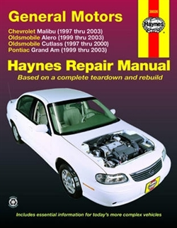 Haynes 38026 General Motors Repair Manual for 1997 thru 2003