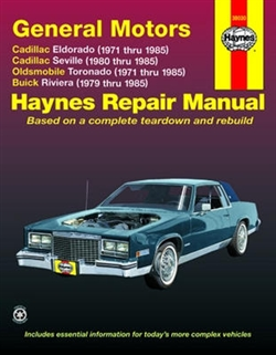 Haynes 38030 General Motors Repair Manual for 1971 thru 1985
