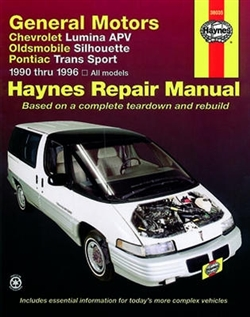 Haynes 38035 General Motors Repair Manual for 1990 thru 1996