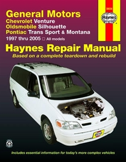 Haynes 38036 General Motors Repair Manual for 1997 thru 2005