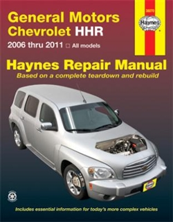 Haynes 38070 General Motors Chevy HHR Repair Manual for 2006 thru 2011