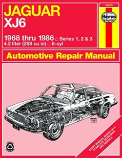 Haynes 49010 Jaguar XJ6 Repair Manual Models Covered Jaguar XJ6 for 1968 thru 1986