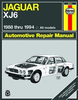 Haynes 49011 Jaguar XJ6 Repair Manual for 1988 thru 1994