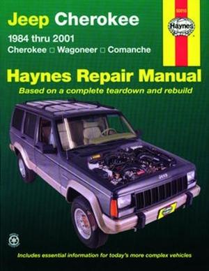 haynes repair manual for jeep cherokee 1984 thru 2001 rh themanualstore com haynes repair manual jeep grand cherokee pdf haynes jeep grand cherokee '93-'04 repair manual