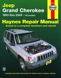 Haynes 50025 Jeep Grand Cherokee Repair Manual Covering All Models for 1993 thru 2004