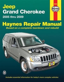 Haynes 50026 Jeep Grand Cherokee Repair Manual for 2005 thru 2009