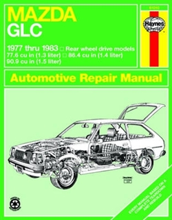 Haynes 61010 Mazda GLC (Rear-Wheel Drive) Repair Manual for 1977 thru 1983