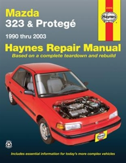 Haynes 61015 Mazda 323 and Protege Repair Manual for 1990 thru 2003