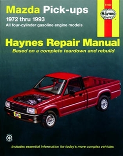 Haynes 61030 Mazda Pick-Ups Repair Manual for 1972 thru 1993