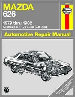 Haynes 61040 Mazda 626 Repair Manual for 1979 thru 1982